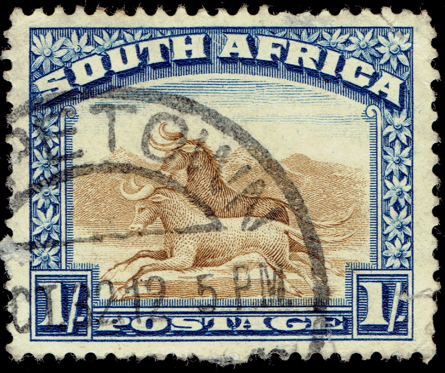 South Africa - Scott #43a (1930)