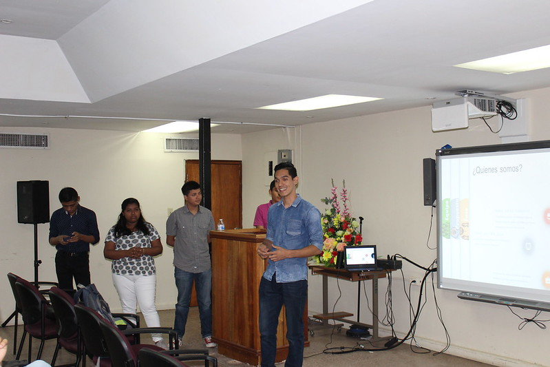 Visita de Estudiantes de Nicaragua