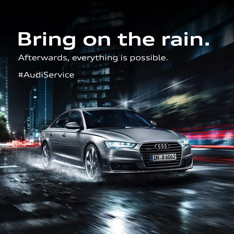 Audi Monsoon Campaign