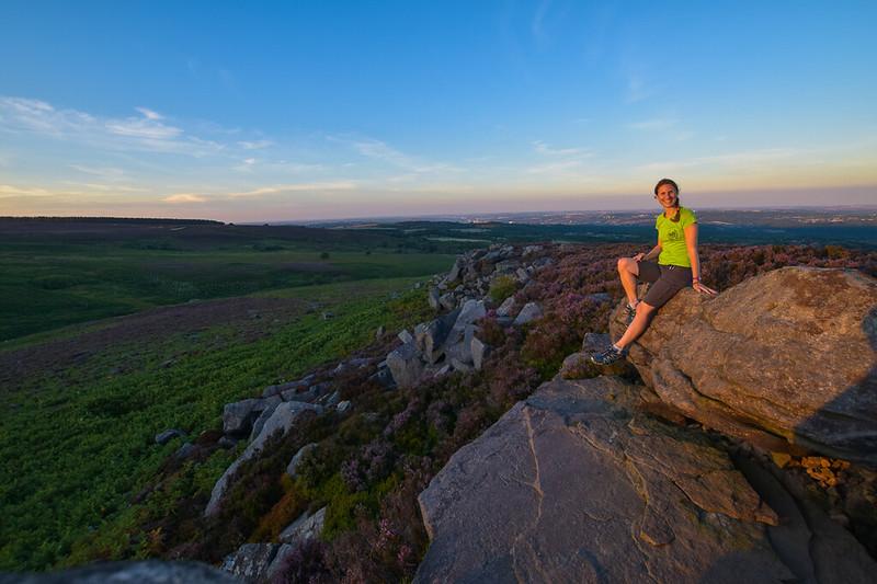 Houndkirk Hill - Peak District circular hike (near Hathersage)