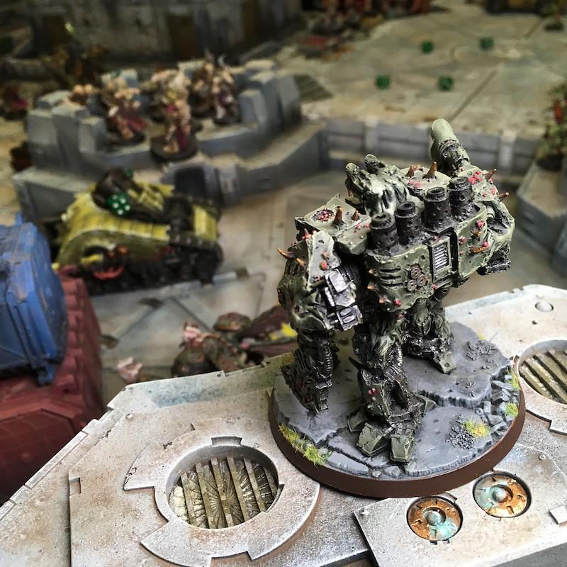 Medal of Colors Indomitus Crusade Battles-28