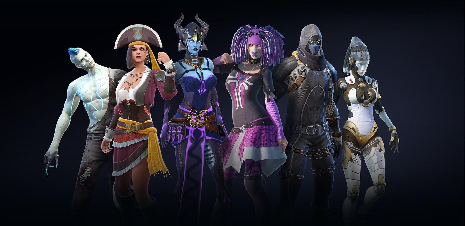 44020227672 7185bc7591 h - MMORPG Skyforge erhält dieses Jahr mit Battle Royale-Modus einen FPS-Twist