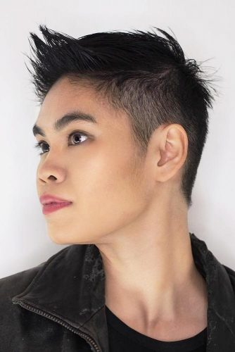 Latest Taper Haircut Styles For Women -Men's Haircut For Women |Now 7