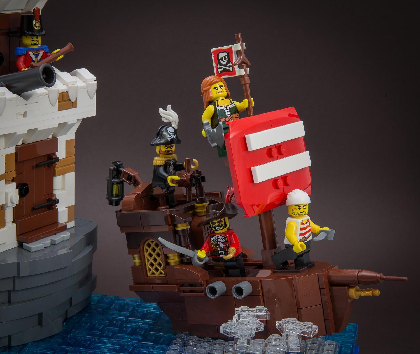 саморобка лего пірати