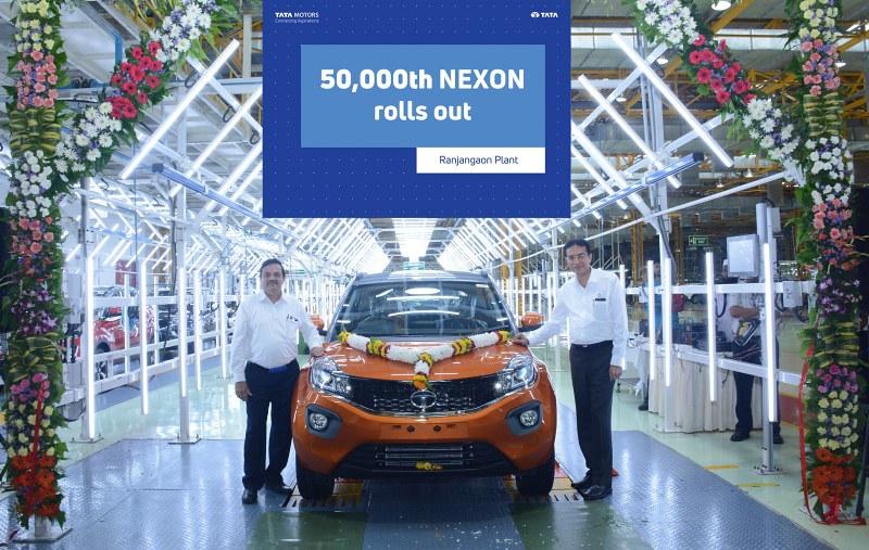 Tata Nexon 50,000
