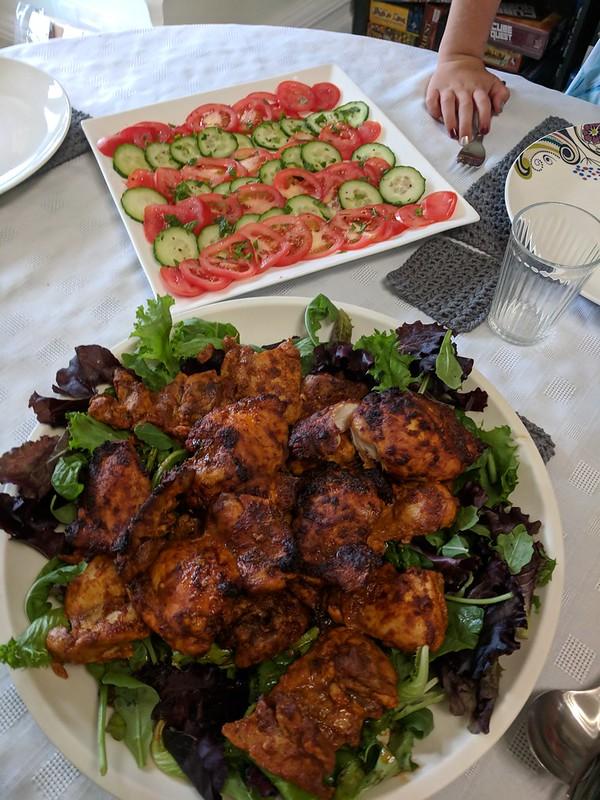 Nigella chicken shawarma