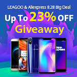LEAGOO & Aliexpress 8.28 Big Deal