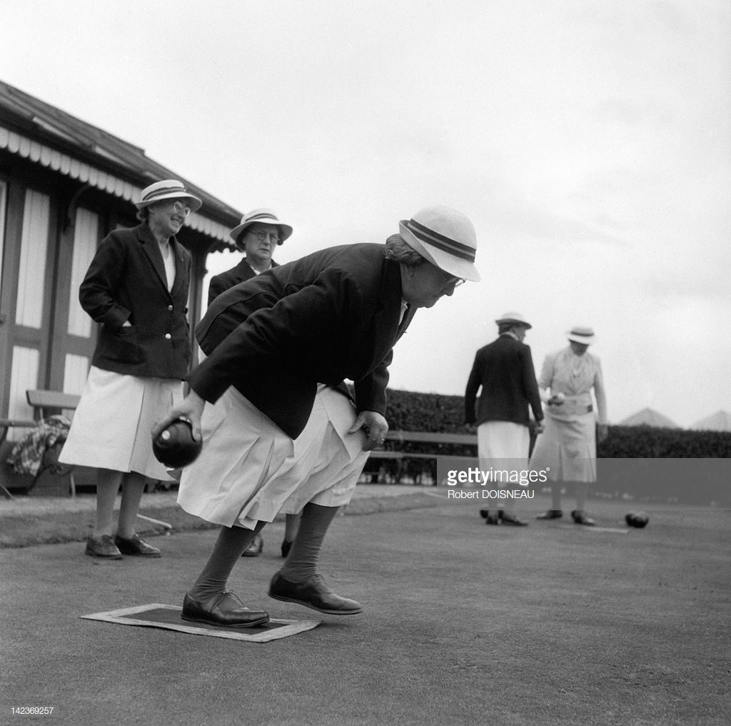 1950. Дамы играют в кегли, Англия