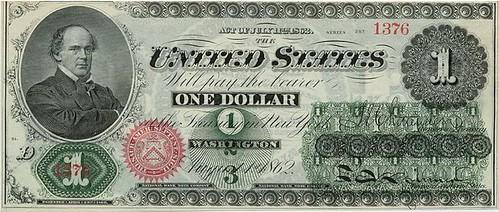 First Dollar Bill Obverse