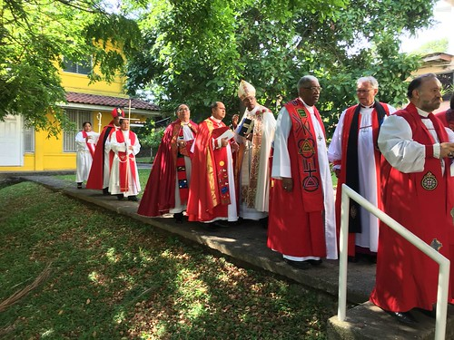 Scenes from the installation of Archbishop Julio Murray as Primate of the Anglican Church of Central America Region - b