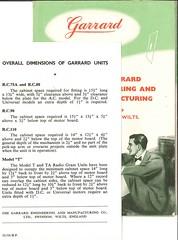 Garrard Brochure 1953 g