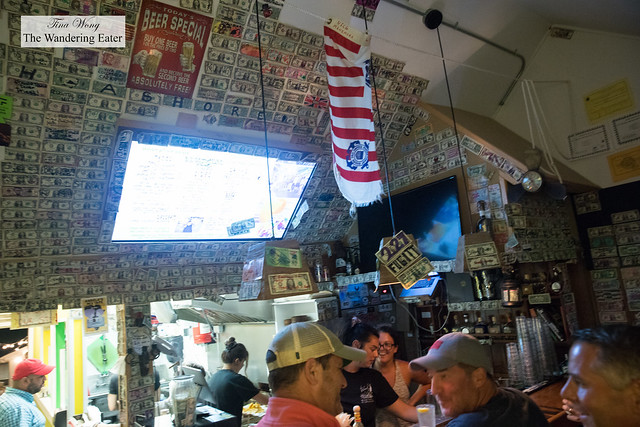 Interior of Backyard Taco