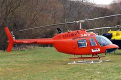 G-BEWY Bell 206B Jet Ranger [348] (Polo Aviation Ltd) Cheltenham Racec