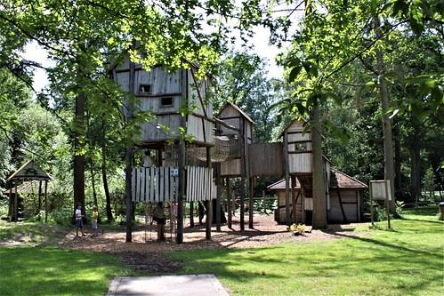 adventure park at Bokrijk's Playground
