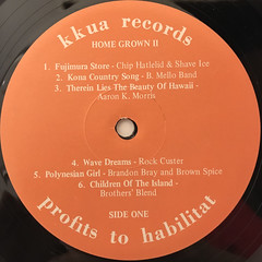 V.A.:HOME GROWN II(LABEL SIDE-A)