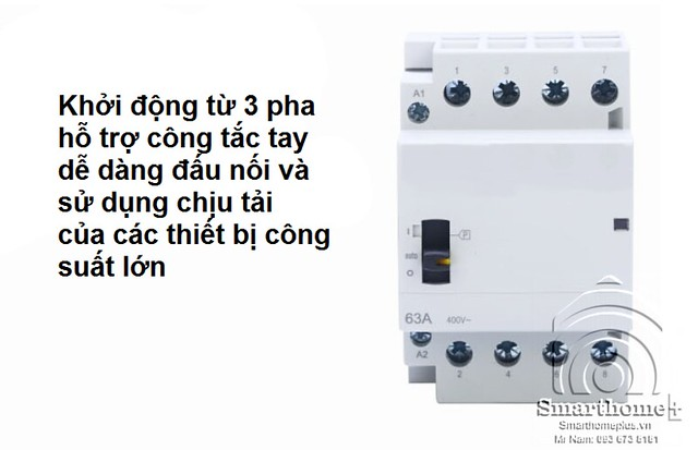 khoi-dong-tu-contactor-ho-tro-cong-tac-tay-3-pha-4-day-63a-bch-3p63m