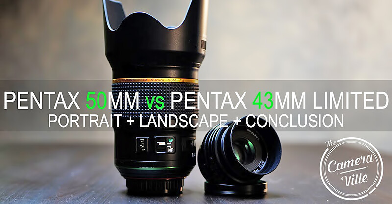 HD PENTAX-D FA★ 50mm F1.4 SDM AW vs smc PENTAX FA 43mm F1.9 Limited – Test Videos