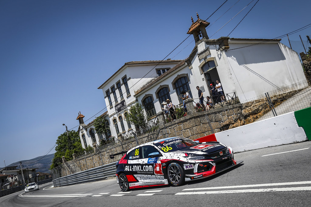86 GUERRIERI Esteban, (arg), Honda Civic TCR team ALL-INKL.COM Munnich Motorsport, action during the 2018 FIA WTCR World Touring Car cup of Portugal, Vila Real from june 22 to 24 - Photo Francois Flamand / DPPI