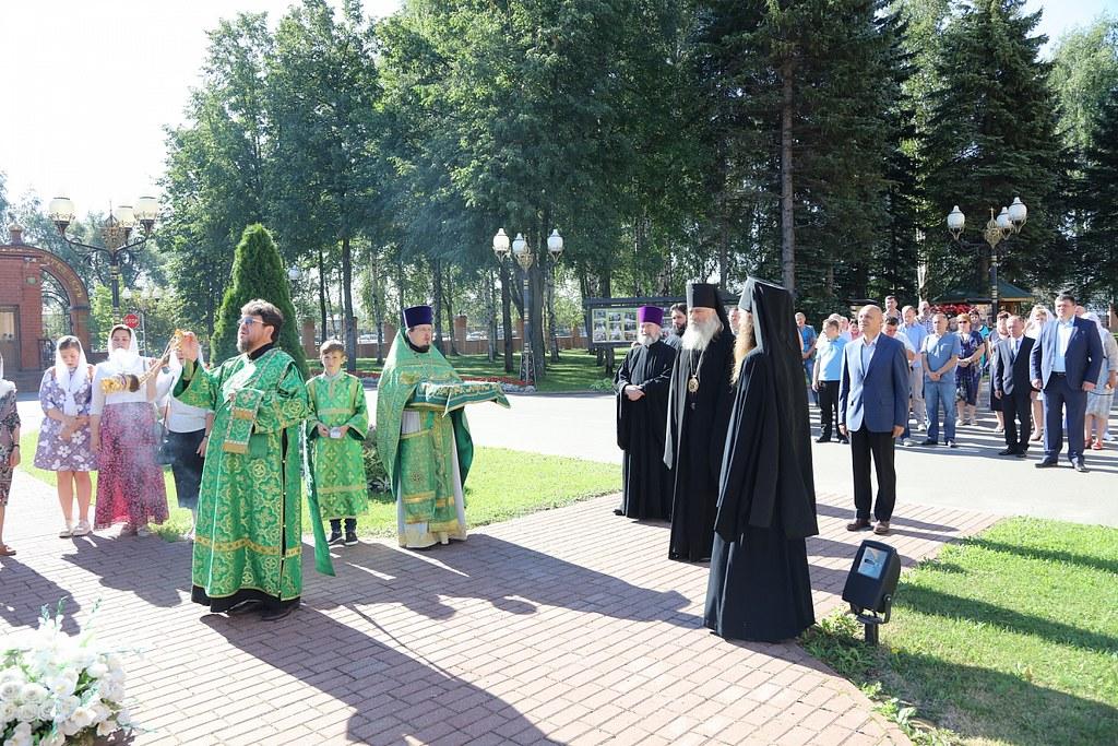 Храм прп. Серафима Саровского в п. Софрино отметил престольный праздник