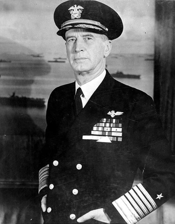 Fleet Admiral Ernest J. King, United States Navy