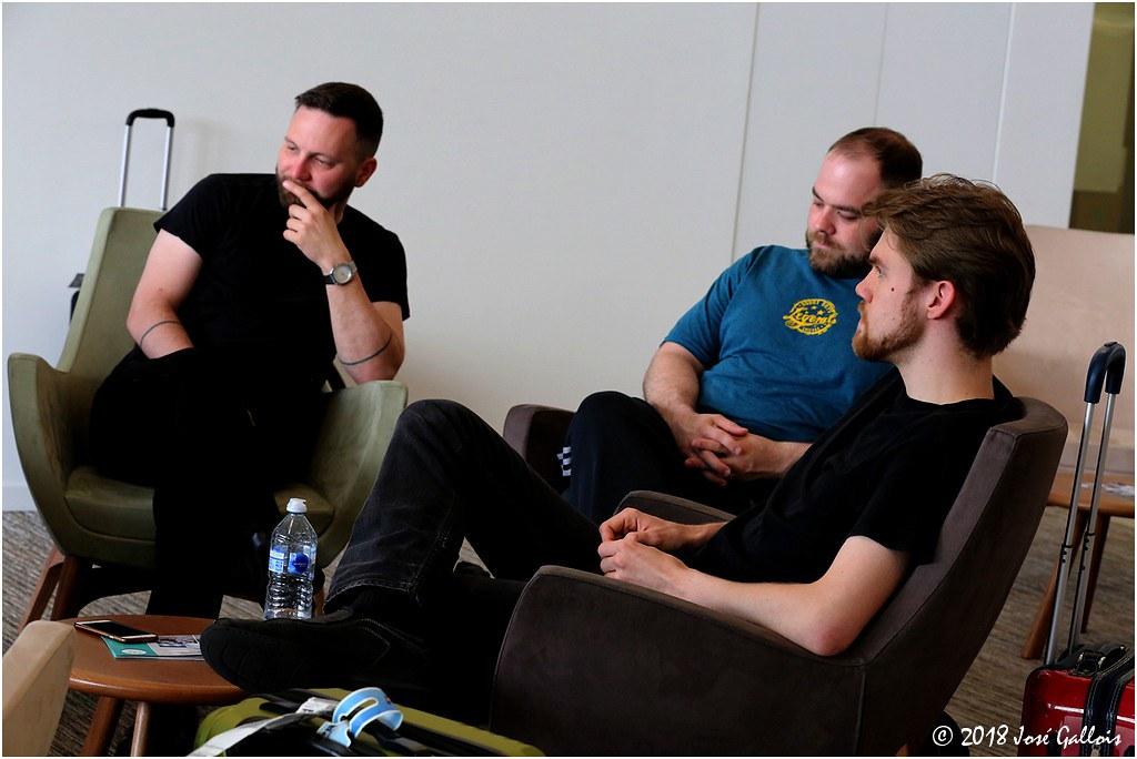 Interview Corey Dennison & Band - Antwerp 2018