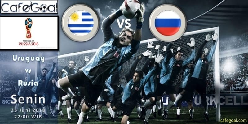 Prediksi Bola Uruguay vs Russia , Hari Senin 25 June 2018 – Piala Dunia
