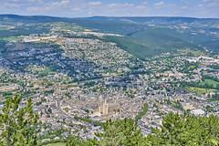 Views of Mende from the Croix de Saint Privat - Photo of Saint-Bauzile