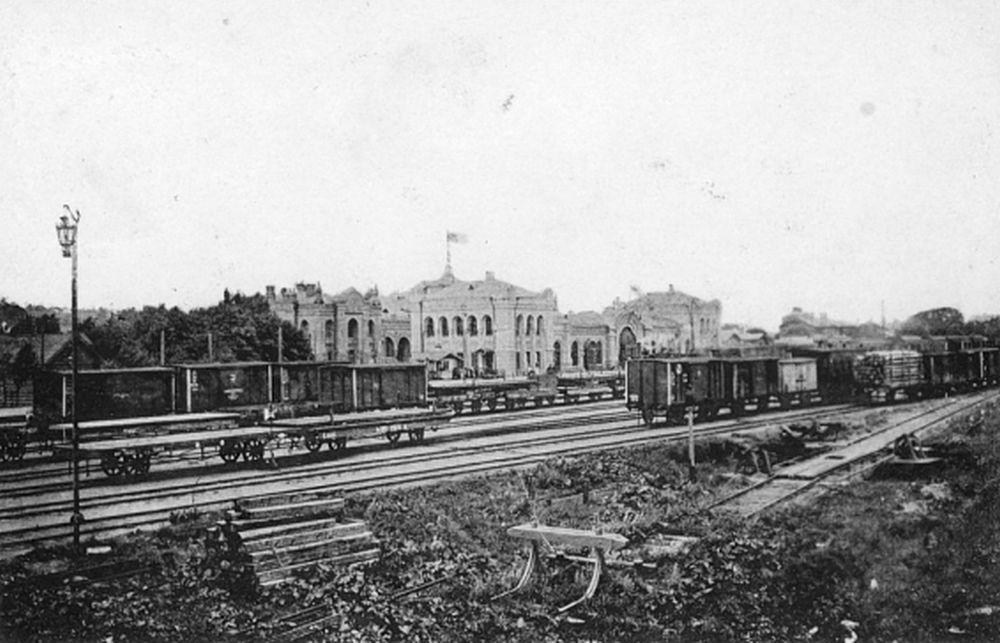 Смоленский ж/д вокзал. XIX век