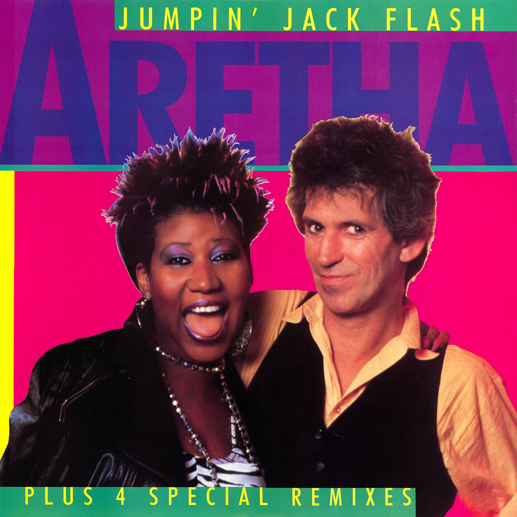 Aretha Franklin (with Keith Richards) - Jumpin' Jack Flash