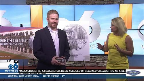 Henry Johnson medal TV interview