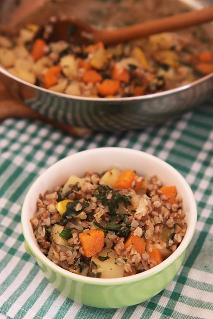 Buckwheat and Vegetables Stew Olga Tikhonova