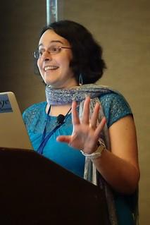 Elisa E. Beshero-Bondar at Balisage 2018