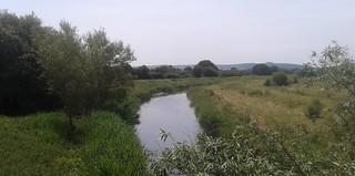First crossing of the Adur, at Betley Bridge