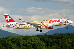 HB-JCA Swiss International Air Lines Bombardier CSeries CS300 (BD-500-