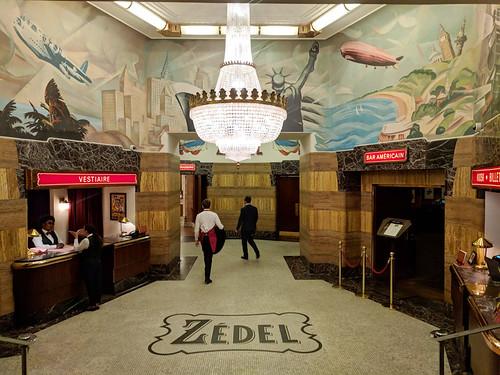 Zedel Brasserie entrance