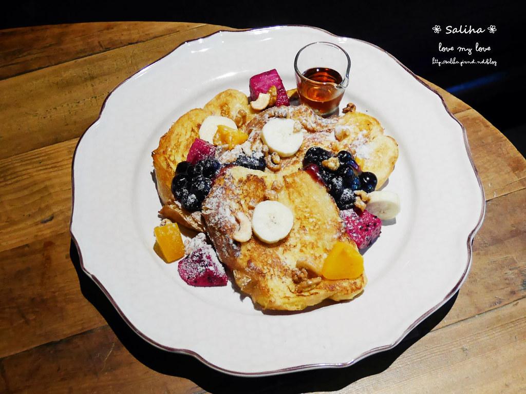 台北松山小巨蛋站quote333餐廳好吃早午餐推薦法式土司 (1)