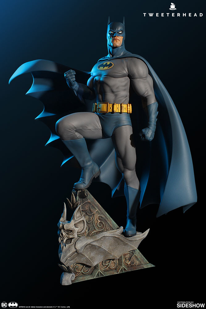 Tweeterhead Super Powers 系列 DC Comics【蝙蝠俠】Batman 1/6 比例全身雕像作品