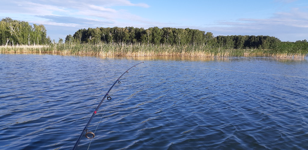 Один мой рыбацкий день женщина