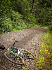 Ride from Portland to Reeher's Camp Gravel