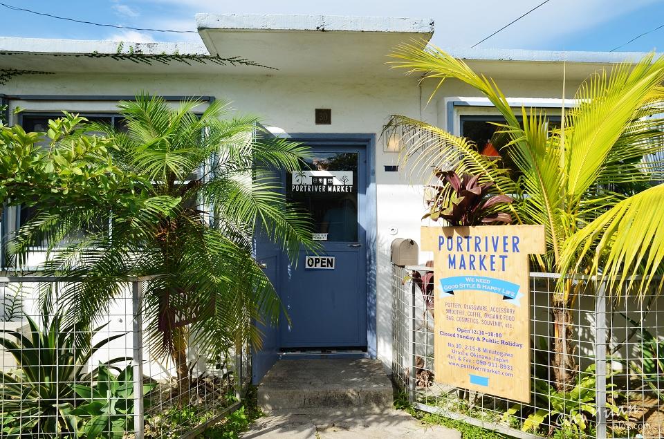 [日本。沖繩]港川外國人住宅PORTRIVER MARKET。沖繩特有土產,風格選物小店