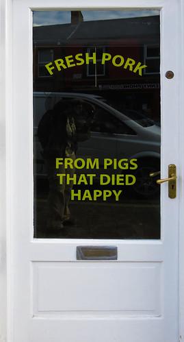 Pork from 'Happy Pigs' in Kilkenny, Ireland