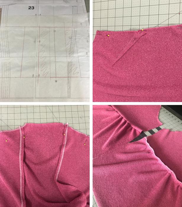 Cardigan Sewing