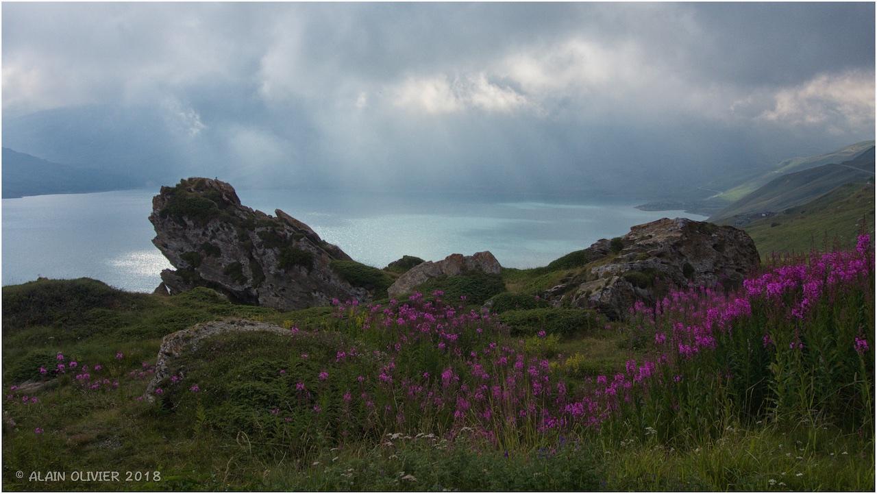 Lac du Mont-Cenis, Fort de Ronce et Lac Clair 43296499494_4094db664b_o