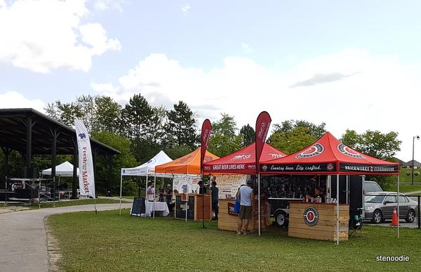 Stouffville ribfest beer vendors