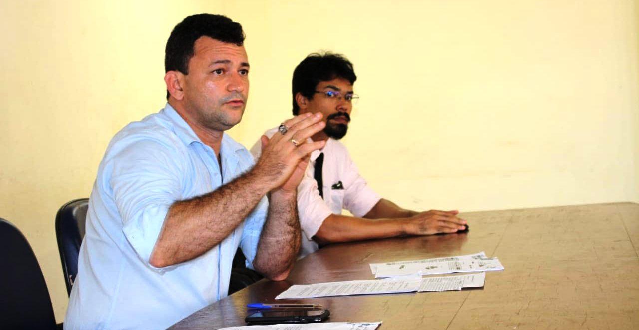 Corregedor da Polícia Civil reúne com delegados da Regional do Tapajós, policia1
