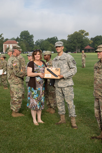 8th Regiment, Advanced Camp | Graduation