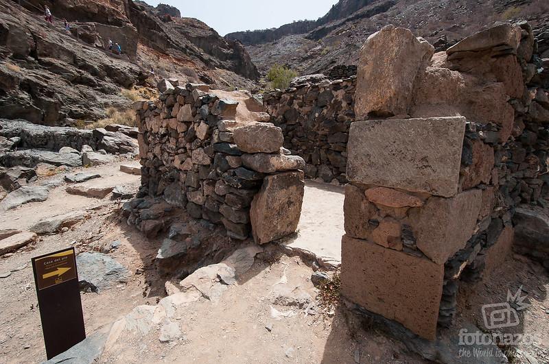 Yacimiento Arqueológico Cañada de los Gatos en Mogán