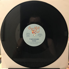 SYLVIA:IT'S GOOD TO BE THE QUEEN(RECORD SIDE-A)