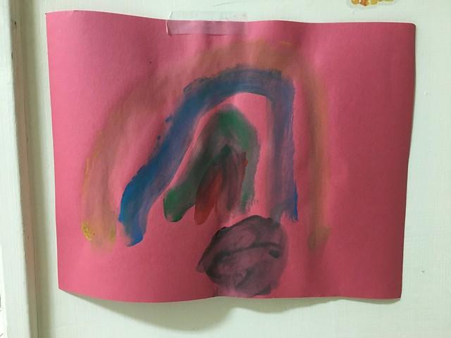 第一次畫水彩