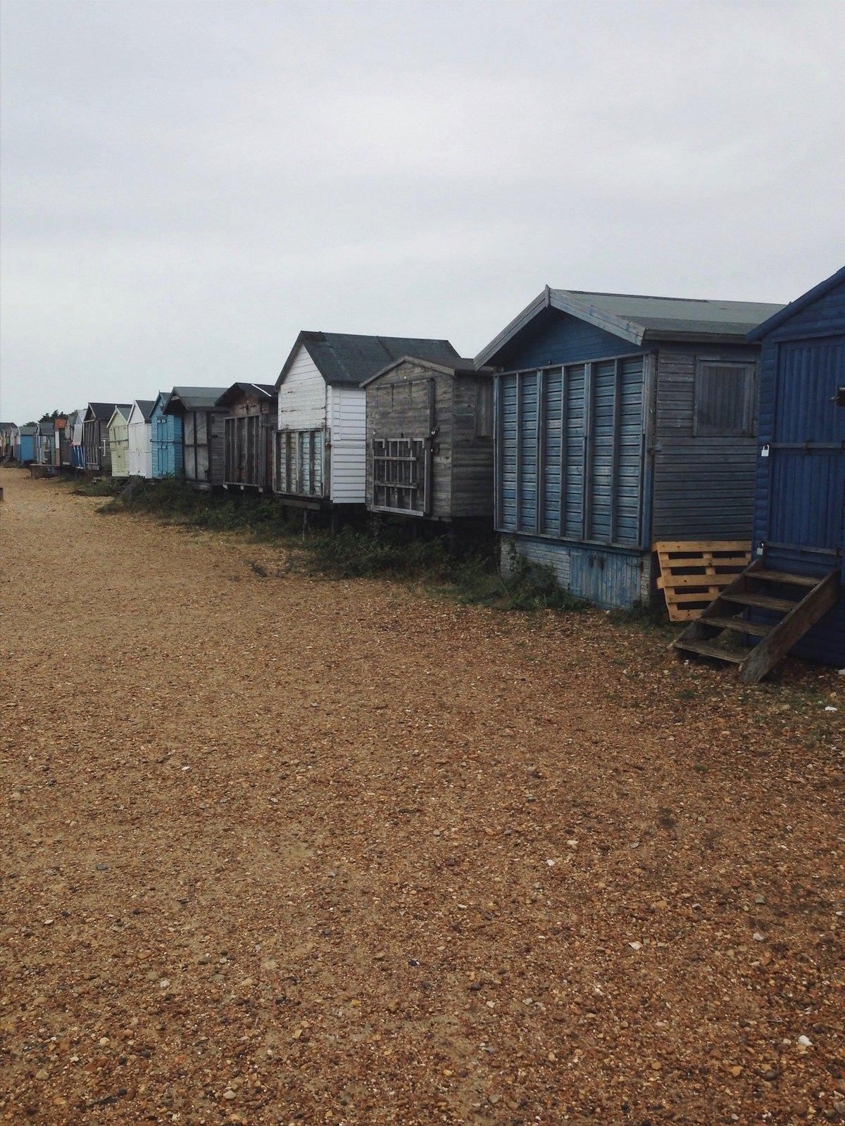 Beach Huts Faversham to Whitstable